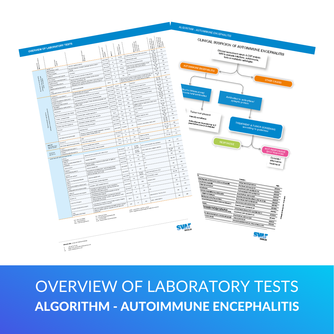Overview of Laboratory Tests - Autoimmune Encephalitis 2